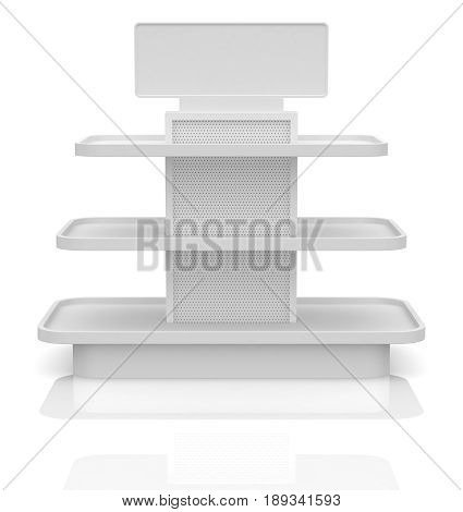 Empty Shop Shelf