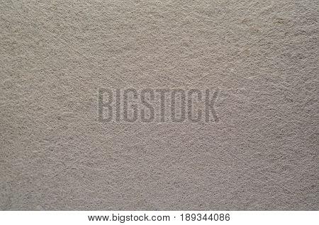 Grey Felt Texture Background. Fiber texture of felt close-up