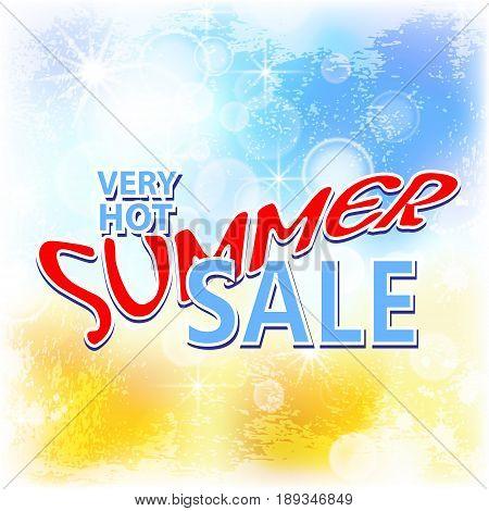 summer sale background vector illustration clip-art ESP10