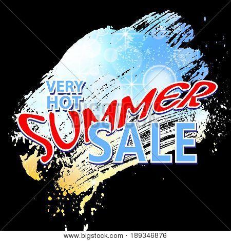 summer sale background vector illustration clip-art EPS10