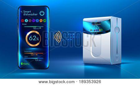 Smart Dishwasher Iot