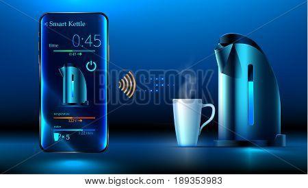 Smart Kettle. Iot