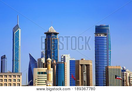 High Rise Real Estate Growth In Kuwait City