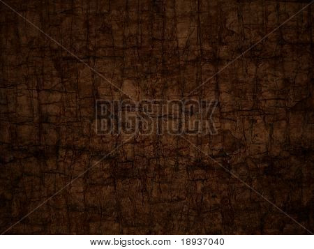 brown cracked background