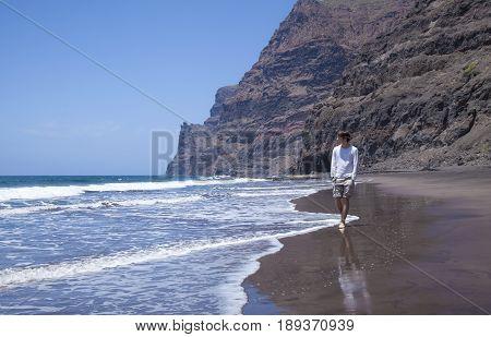 Gran Canaria,  Beach Playa De Guigui