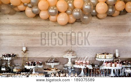 Image Of An Assorted Sweets On Party Table