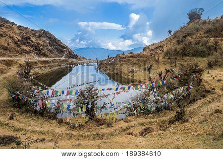 Kala Pokhri Or The Black Water Pond