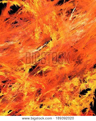 Flame intense heat blaze fill background abstract vertical