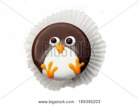 creative pastry food cakes funny funny pinguin animal for child