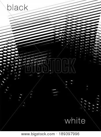 Black and white abstract background with space for your type
