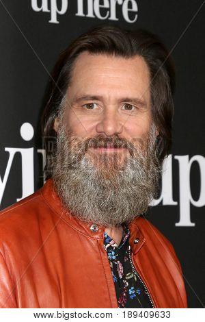 LOS ANGELES - MAY 31:  Jim Carrey at the Showtime's