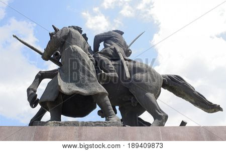 Rostov-on-Don Russia - May 282017: Monument
