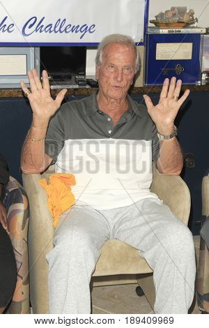 LOS ANGELES - JUN 1:  Pat Boone at the National Senior Games Press Conference at the Pat Boone Enterprises on June 1, 2017 in West Hollywood, CA