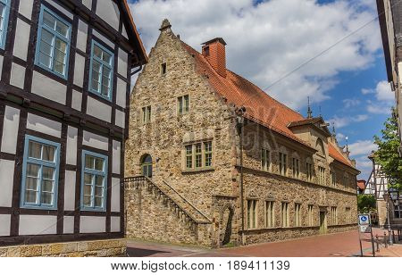 Historical House In The Center Of Rinteln