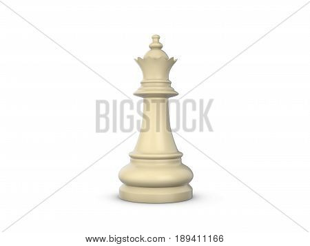 Chess Queen 3D Illustration