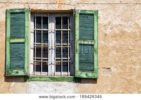 Lonate Ceppino Varese Italy Abstract  Window   Green  Wood
