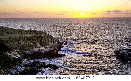 Pacific Ocean at Big Sur California - CALIFORNIA