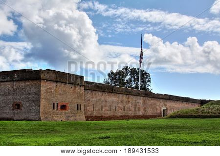 Fort Pulaski National Monument near Savannah Georgia.