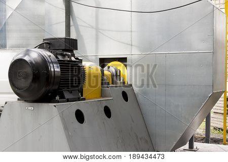 Deital of Fumes ventilators system in Poland