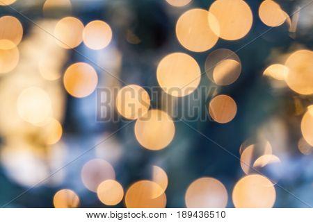 Beautiful Bokeh in Detail as Background or