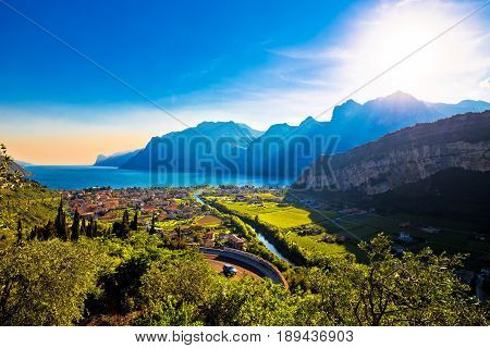 Torbole And Lago Di Garda View