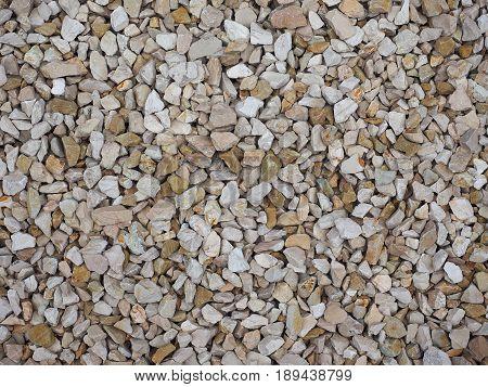 Grey Gravel Texture Background