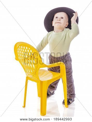 Boy With Chair