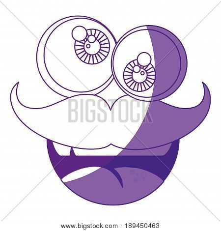 mask funny mustache vector icon illustration graphic design
