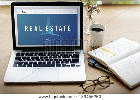 Real Estate Accommodation Property Investment Graphic Word