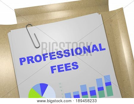 Professional Fees - Business Concept