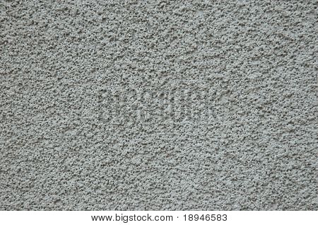 Natural concrete texture of specific plaster (rough grade)