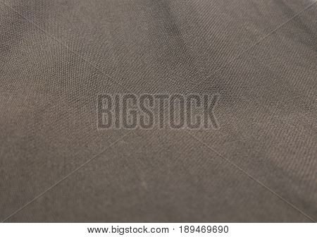Fabric Texture Close Up of Brown Textile Texture Pattern Background.