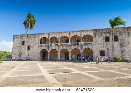 Facade Of Columbus Alcazar
