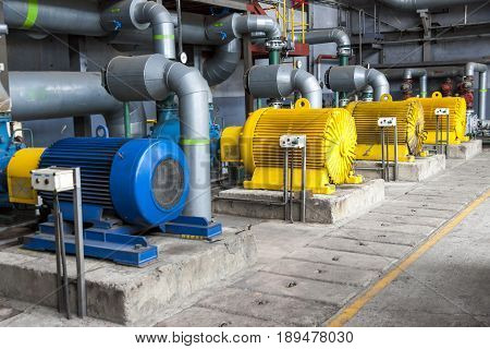 Large Water pumps with electric motors - Poland
