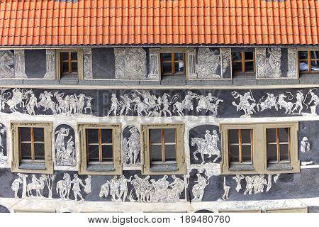 PRAGUE CZECH REPUBLIC - MAY 1 2017: Renaissance