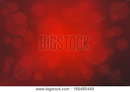 Deep Burgundy Red Abstract With Bokeh Lights Blurred Background