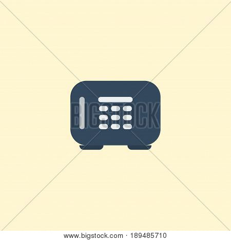 Flat Vault Element. Vector Illustration Of Flat Safe  Isolated On Clean Background. Can Be Used As Safe, Vault And Gloves Symbols.