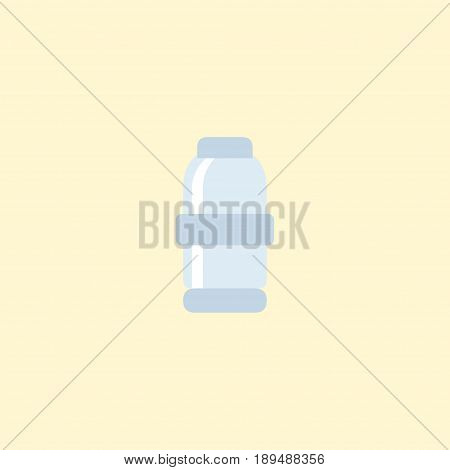 Flat Salt Element. Vector Illustration Of Flat Spice  Isolated On Clean Background. Can Be Used As Salt, Spice And Saltshaker Symbols.