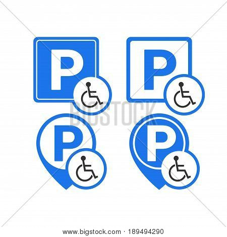 Invalid Parking Sign