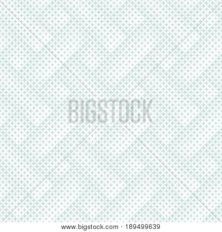 Vector seamless pattern. Abstract halftone background. Modern stylish texture. Repeating tiled grid with stars. Contemporary design