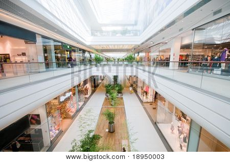 Modern shopping mall. Shopping centre