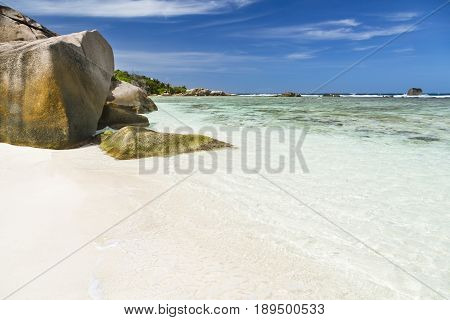 Beautiful Anse Pierrot, La Digue, Seychelles