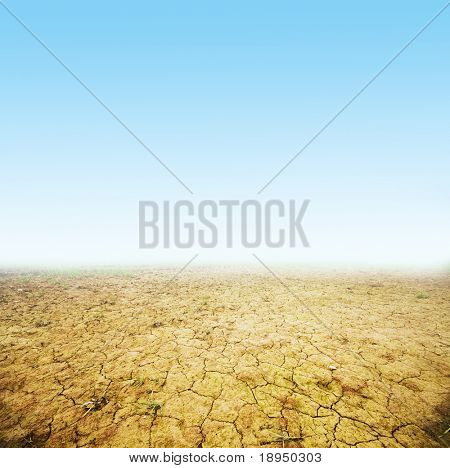 Cracked ground background. Ready to use. Global warming, drought etc. concepts