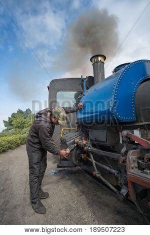 Steam Engine Hauled Train