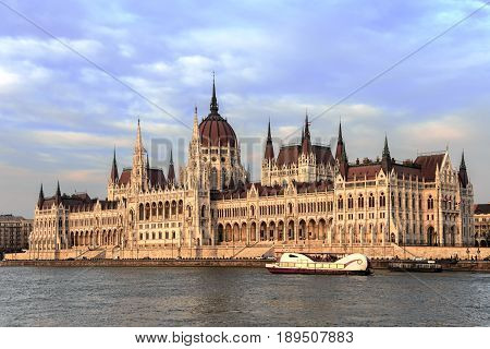 the Hungarian Parliament in Budapest one of the largest governmental buildings in the world
