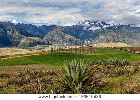 Sacred Valley. Cusco Region Urubamba Province Peru