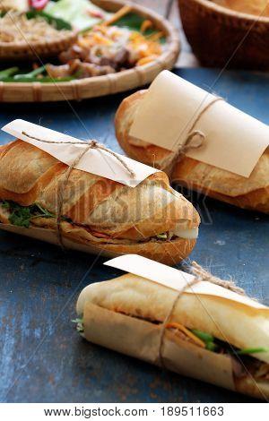 Vietnamese Street Food, Banh Mi Thit