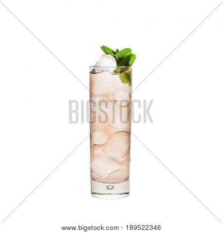 cocktail isolated on the white