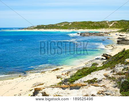 View of Surfers Point Margaret River Western Australia