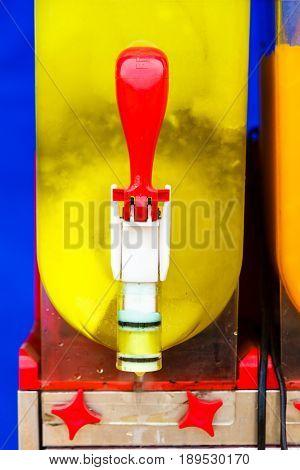 Colorful Ice Cream Slushy Smoothie Machine